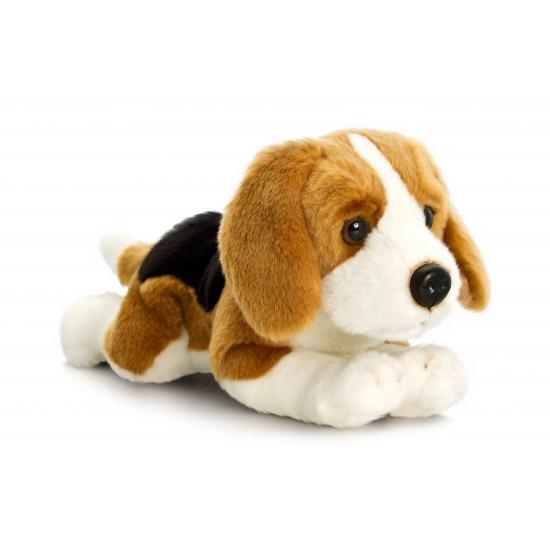 d2d989603d9b77 Pluche knuffel hond Beagle 120 cm bij Speelgoed voordeel, altijd de ...